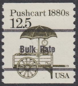 USA Michel 1748 / Scott 2133 postfrisch EINZELMARKE precancelled (a01) - Fahrzeuge: Handkarren