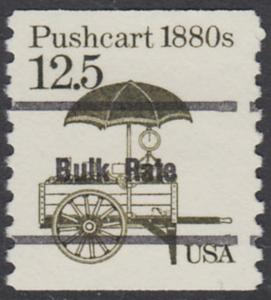 USA Michel 1748 / Scott 2133 postfrisch EINZELMARKE precancelled (a03) - Fahrzeuge: Handkarren