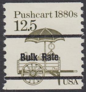 USA Michel 1748 / Scott 2133 postfrisch EINZELMARKE precancelled (a02) - Fahrzeuge: Handkarren