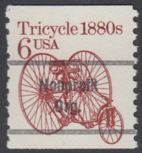 USA Michel 1751 / Scott 2126 postfrisch / precancelled EINZELMARKE (a02) - Fahrzeuge: Dreirad