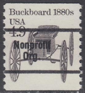 USA Michel 1758 / Scott 2124 postfrisch EINZELMARKE precancelled (a1) - Fahrzeuge: Kutsche