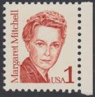 USA Michel 1840 / Scott 2168 postfrisch EINZELMARKE RAND rechts - Amerikanische Persönlichkeiten: Margaret Mitchell (1900-1949), Schriftstellerin