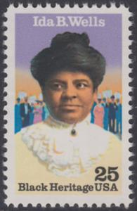 USA Michel 2074 / Scott 2442 postfrisch EINZELMARKE - Schwarzamerikanisches Erbe: Ida B. Wells (1862-1931), Bürgerrechtlerin