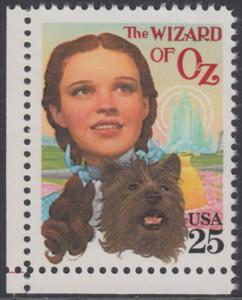 USA Michel 2079 / Scott 2445 postfrisch EINZELMARKE ECKRAND unten links - Klassische Filme: Kinoplakate