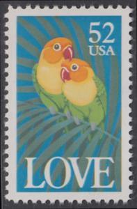 USA Michel 2133 / Scott 2537 postfrisch EINZELMARKE - Grußmarke: Pfirsichköpfchen
