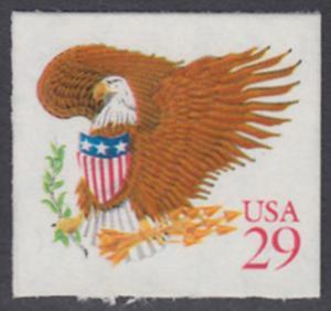 USA Michel 2319 / Scott 2597 postfrisch EINZELMARKE (a1) - Wappenadler; Adler mit Wappenschild (Cent in rot)