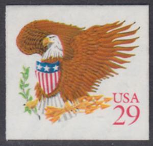 USA Michel 2319 / Scott 2597 postfrisch EINZELMARKE (a2) - Wappenadler; Adler mit Wappenschild (Cent in rot)
