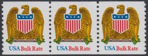 USA Michel 2364 / Scott 2603 postfrisch horiz.STRIP(3) - Wappenadler