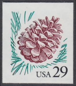 USA Michel 2424 / Scott 2891 postfrisch EINZELMARKE - Kiefernzapfen