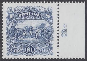 USA Michel 2455 / Scott 2590 postfrisch EINZELMARKE RAND rechts - Die Kapitulation von General Burgoyne bei Saratoga