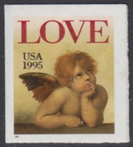 USA Michel 2544 / Scott 2949 postfrisch EINZELMARKE - Grußmarke: Engel