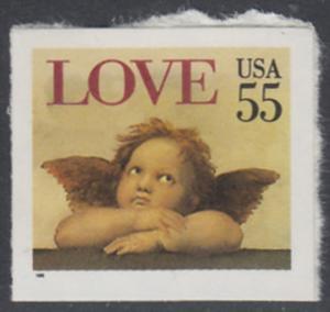 USA Michel 2562 / Scott 2960 postfrisch EINZELMARKE - Grußmarke: Engel