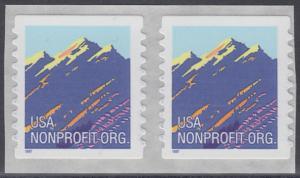 USA Michel 2701 / Scott 2904B postfrisch horiz.PAAR - Gebirgszug