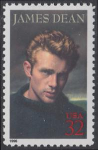 USA Michel 2745 / Scott 3082 postfrisch EINZELMARKE - Hollywood-Legenden: James Dean (1931-1955), Filmschauspieler