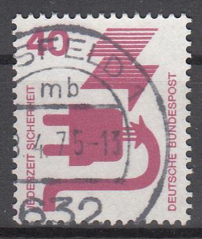 hc000.105 - Bund Mi.Nr. 699A o, Stempel Alsfeld