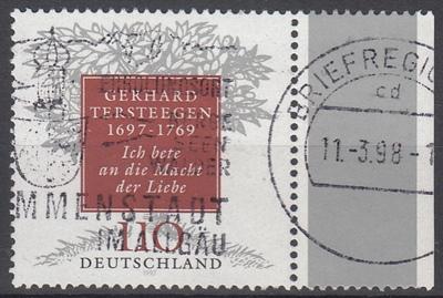 hc000.253 - Bund Mi.Nr. 1961 PF II gestempelt vom Seitenrand