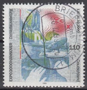 hc000.265 - Bund Mi.Nr. 2042 o, Vollstempel Briefzentrum 21