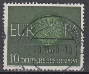 hc000.280 - Bund Mi.Nr. 337 o, Stempel Braunschweig