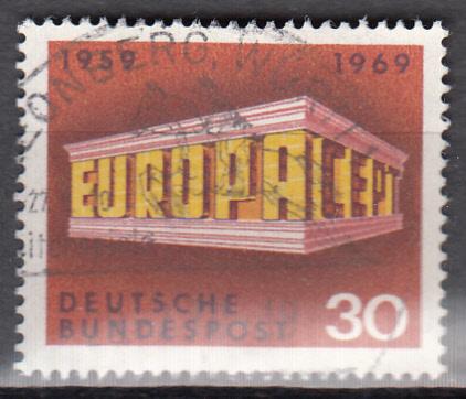 hc000.290 - Bund Mi.Nr. 584 o, Sonderstempel Leonberg