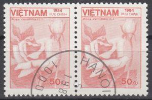 hc000.495 - Vietnam Mi.Nr. 1533 o, waagr. Paar