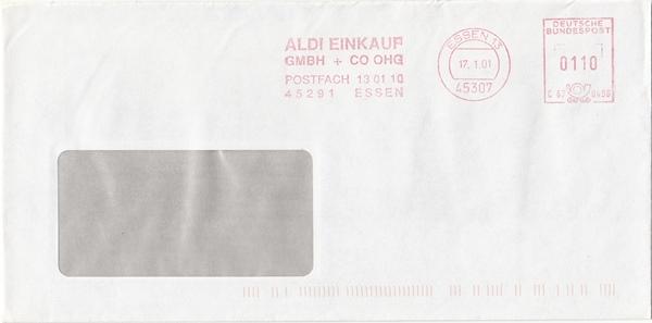 br000.038 - Deutschland AFS C670496, Essen 2001, ALDI Einkauf GmbH + Co OHG