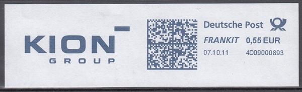 af021 - Deutschland FRANKIT 4D09000893, 2011, KION Group