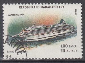 hc000.567 - Madagaskar Mi.Nr. 1754 o
