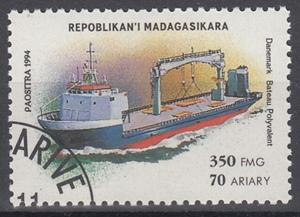 hc000.570 - Madagaskar Mi.Nr. 1757 o