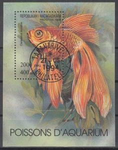 hc000.572 - Madagaskar Mi.Nr. Block 263 o