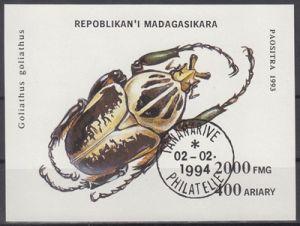 hc000.575 - Madagaskar Mi.Nr. Block 254 o