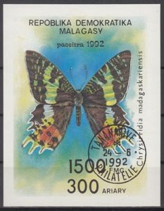 hc000.580 - Madagaskar Mi.Nr. Block 190 o
