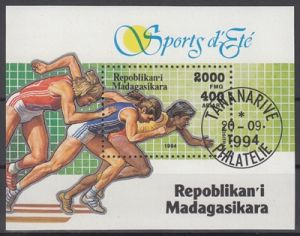 hc000.581 - Madagaskar Mi.Nr. Block 262 o