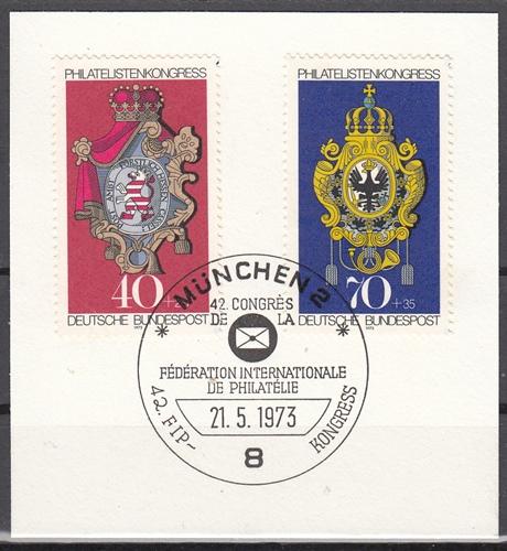 s4 - SST München 21.5.1973 FIP Kongress mit Bund 764/5 auf Ausschnitt
