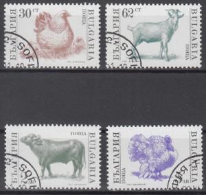 hc000.644 - Bulgarien Mi.Nr. 3881/84A o