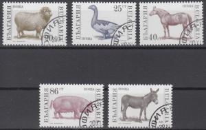 hc000.645 - Bulgarien Mi.Nr. 3923/27A o