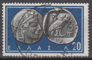 hc000.691 - Griechenland Mi.Nr. 697 o