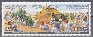 hc000.829 - Libyen Mi.Nr. 1037/38 Zd **