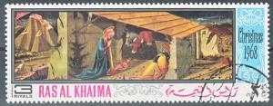 hc000.930 - Ras- al- Khaima Mi.Nr. 274A o