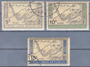 hc000.940 - Jemen Nord (Arab. Rep.) Mi.Nr. 719/21 o