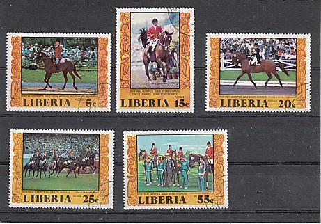 (15) Goldmedaillengewinner der Reiter von Montreal 1976, MiNr.1032-1036