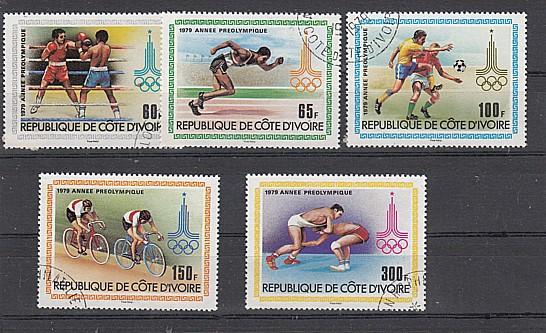 (33) Vorolympische Sommerspiele, MiNr.614.618
