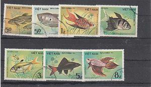 (34) Fische, MiNr.1453-1459