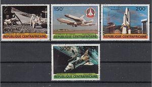 (42) Raumfahrt, MiNr.736-739
