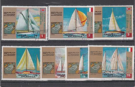 (43) Olympische Sommerspiele,München,Veranstaltungen in Kiel, MiNr.98-104