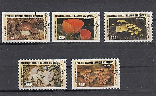 (51) Pilze, MiNr.762-766