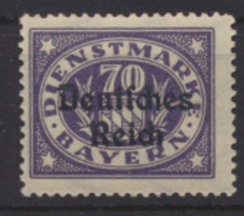 Deutsches Reich Dienst 42 Luxus postfrisch MNH Kat.-Wert 15,00