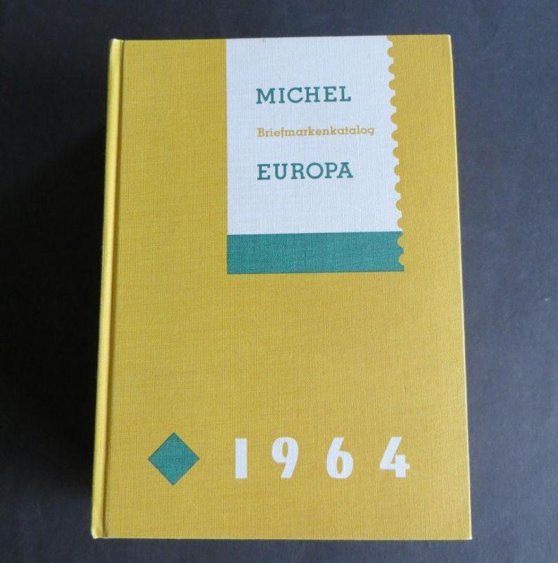 Historischer MICHEL Katalog Europa (ohne Deutschland) 1964 sauber gebraucht