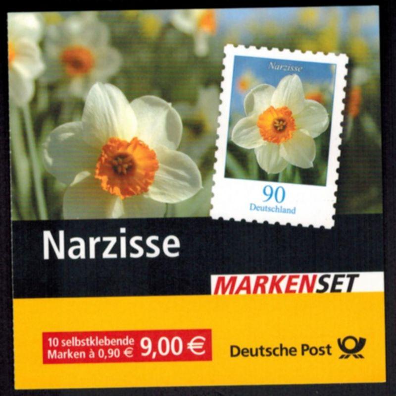 Bundesrepublik Markenheftchen 61 Narzisse 2006 Ersttagsstempel