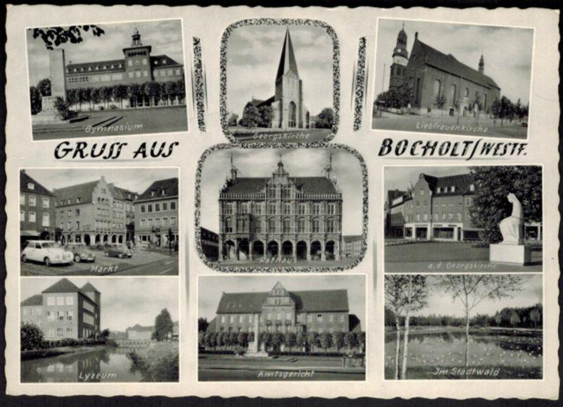 Ansichtskarte Bruges Frankreich per Feldpost I. WK 25.4.1916 Steinen Freilingen