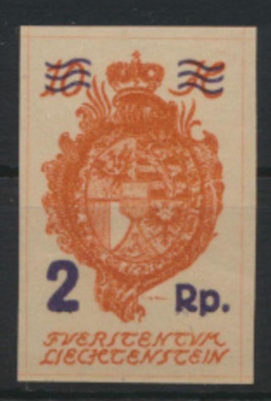 Liechtenstein 43 Landeswappen Luxus postfrisch MNH Kat.-Wert 6,50